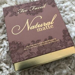 Other - Too Faced Natural Matte Palette